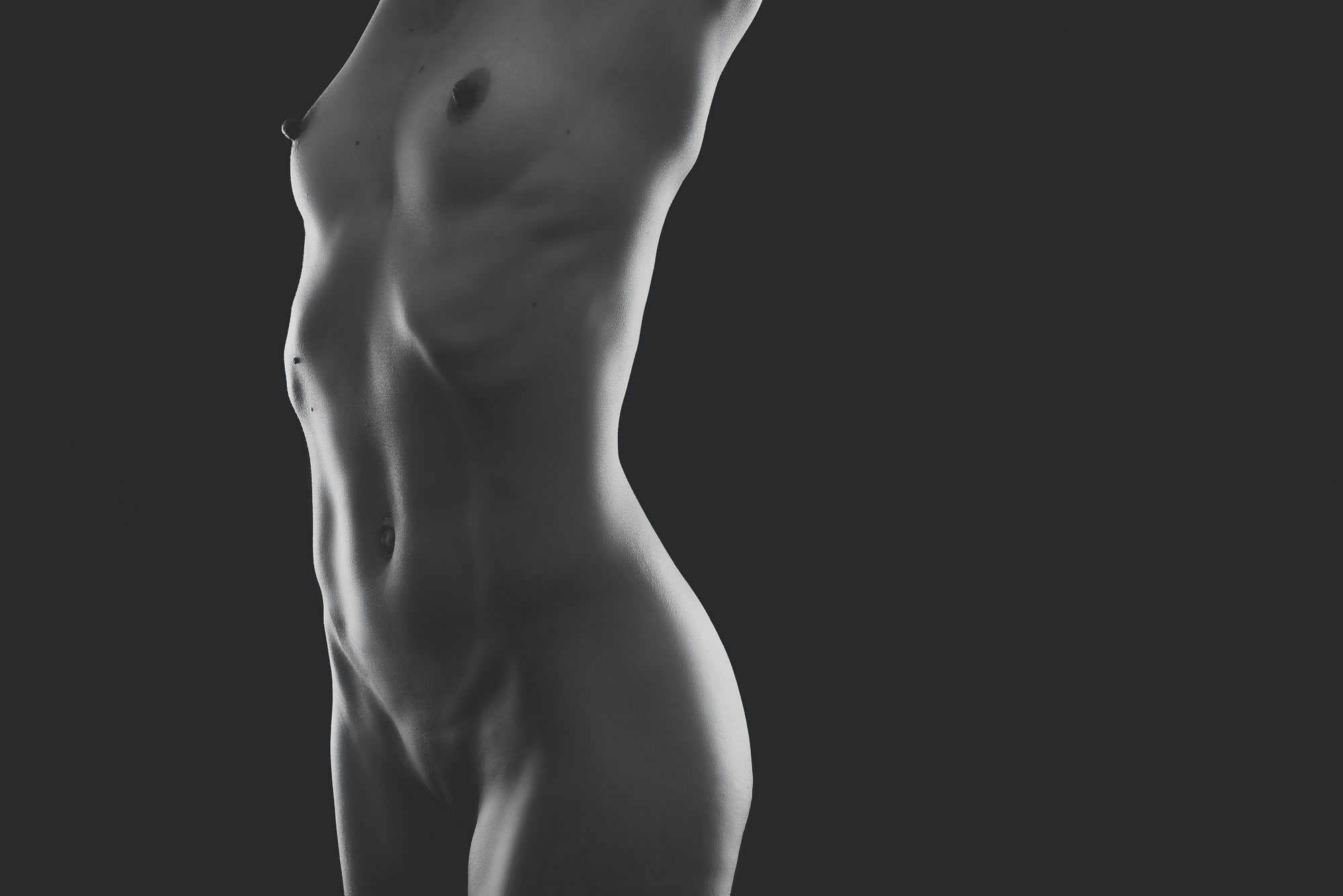 Fine art nude photo torso