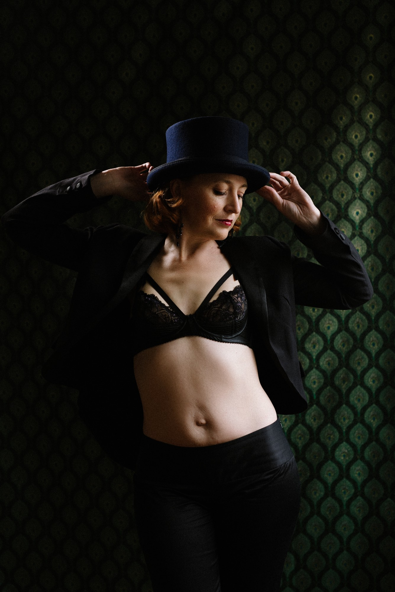 nontraditional boudoir clothing