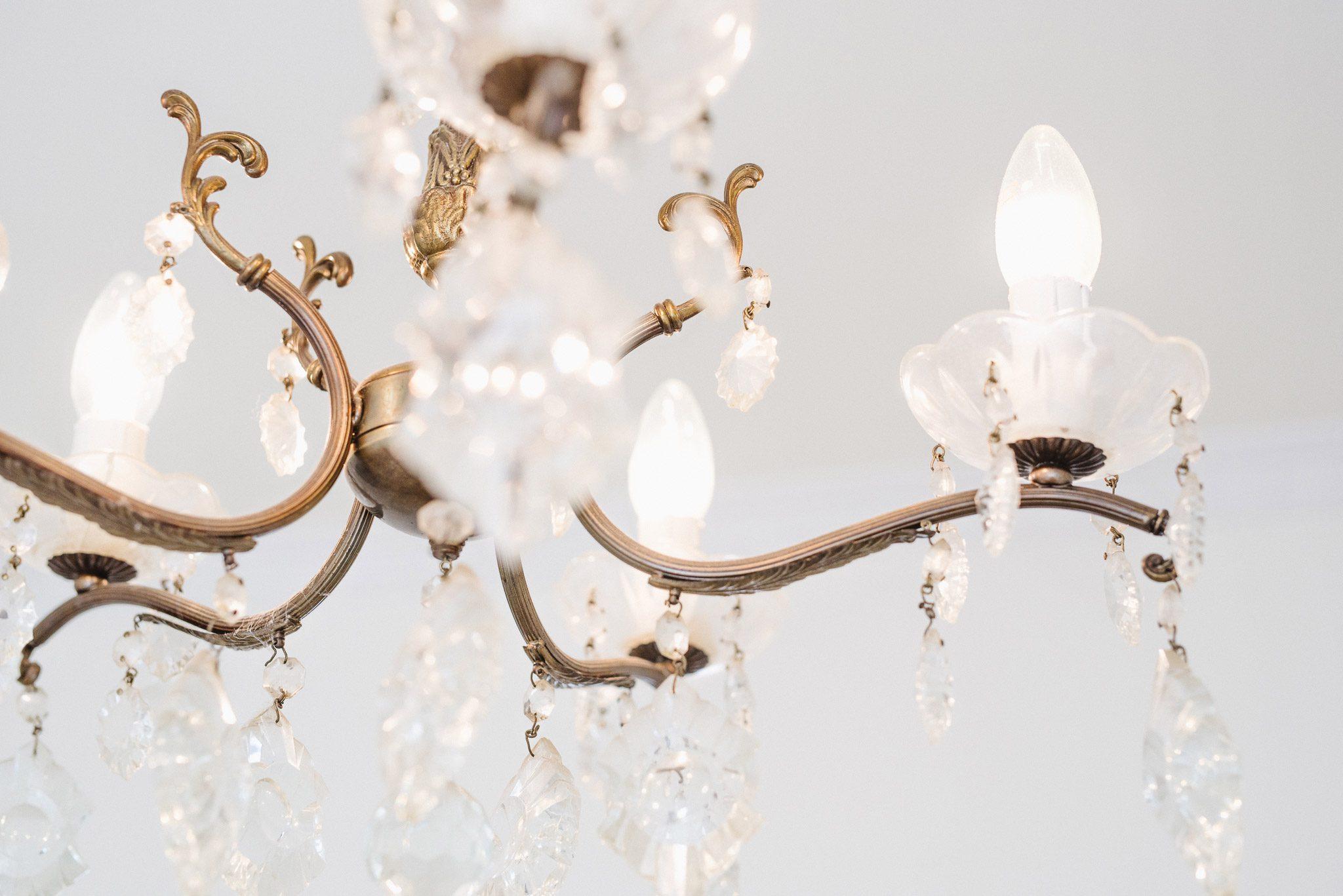 chandelier from the boudoir studio